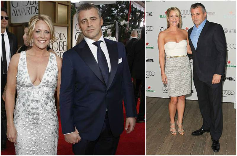 Matt Leblanc's family - ex-partner Andrea Anders