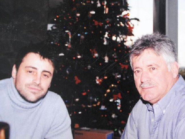 Matt Leblanc's family - father Paul LeBlanc