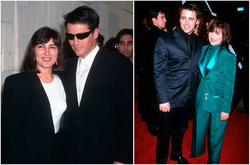 Matt Leblanc's family - mother Patricia LeBlanc