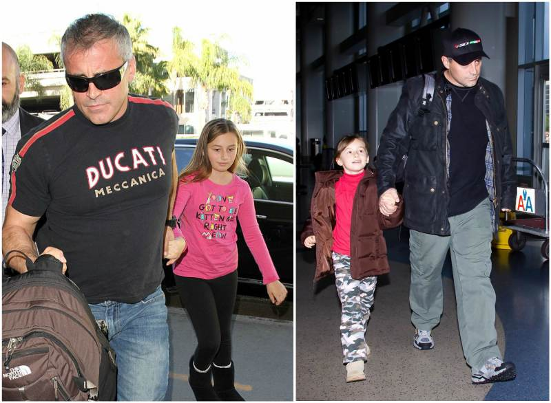Matt Leblanc's children - daughter Marina Pearl LeBlanc