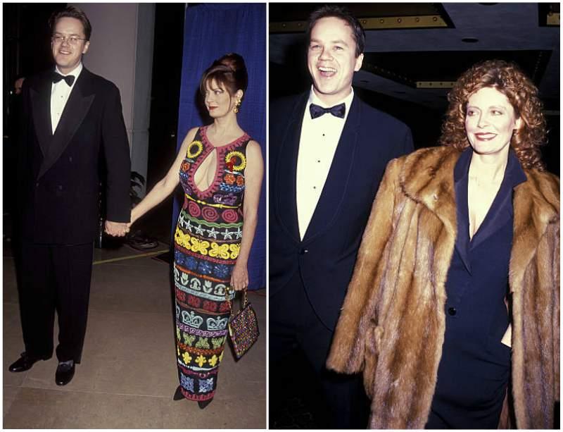 Susan Sarandon's family - ex-partner Timothy Francis Robbins
