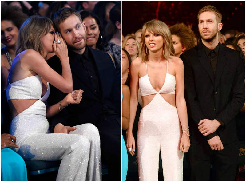 Calvin Harris' ex-girlfriend Taylor Swift