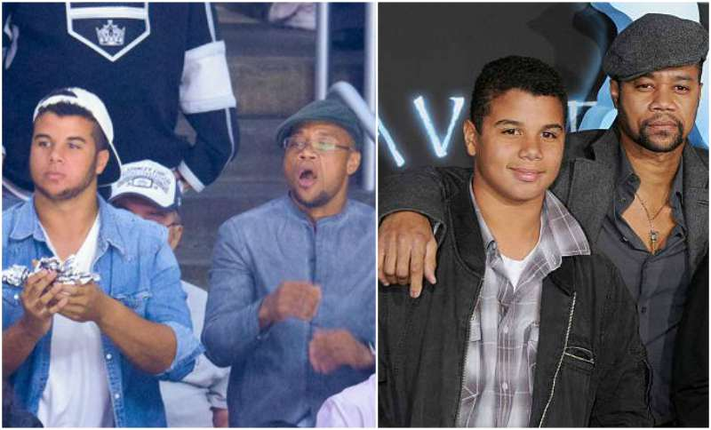 Cuba Gooding Jr children - son Mason Gooding