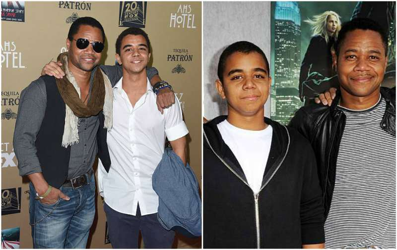 Cuba Gooding Jr children - son Spencer Gooding