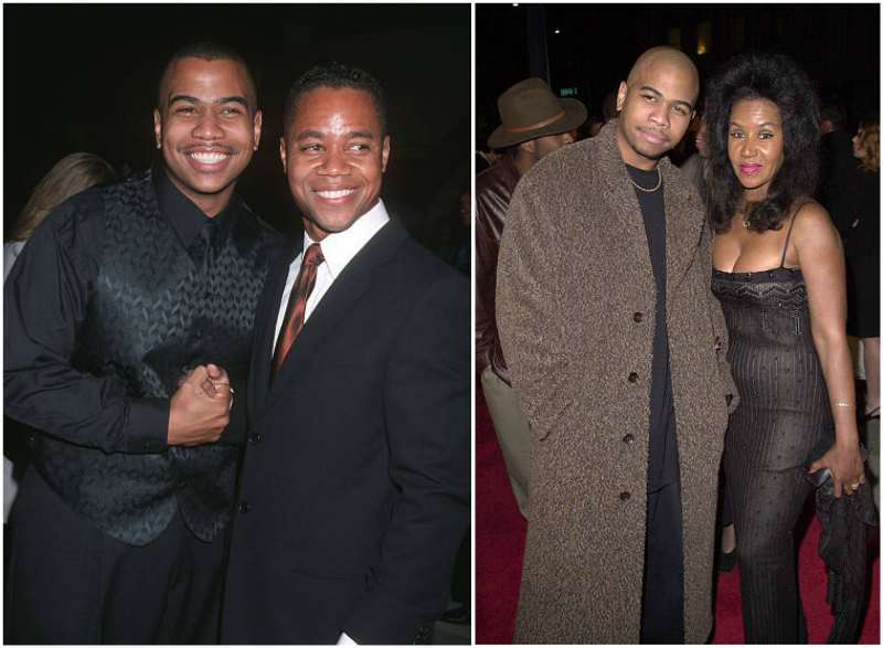 Cuba Gooding Jr siblings - brother Omar Gooding Sr