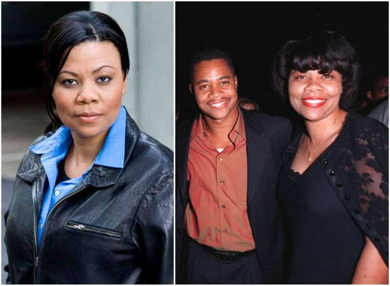 Cuba Gooding Jr siblings - sister April Gooding