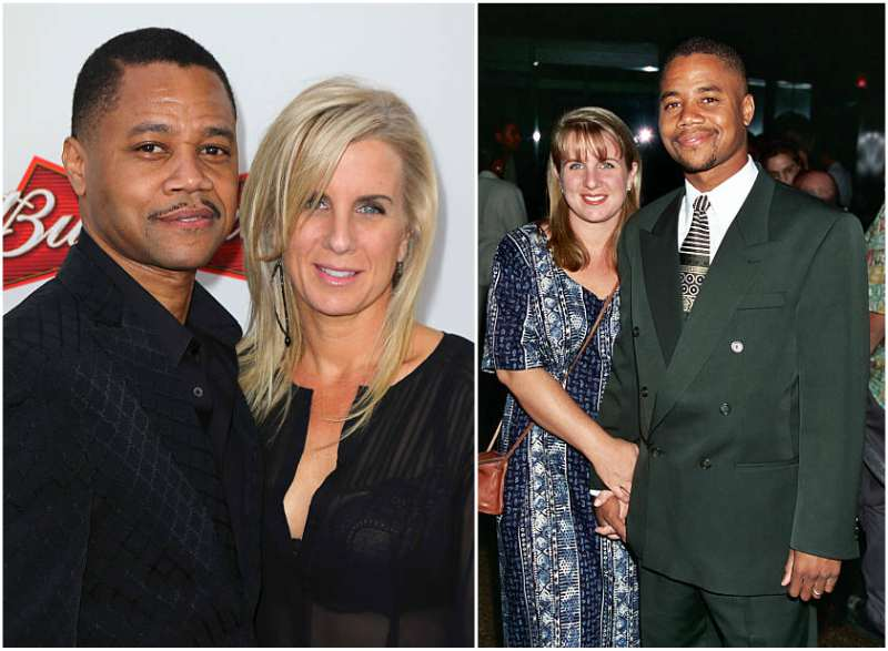 Cuba Gooding Jr family - wife Sara Kapfer