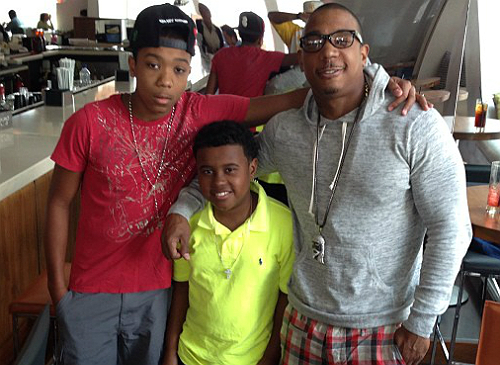 Ja Rule's children - sons