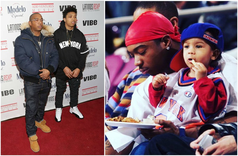 Ja Rule's children - son Jeffrey Atkins Jr.