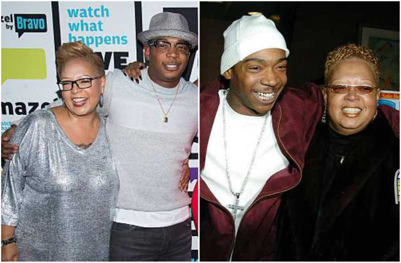 Ja Rule's family - mother Debra Atkins