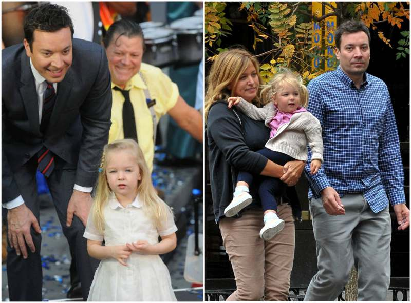 Jimmy Fallon's children - daughter Winnie Rose Fallon