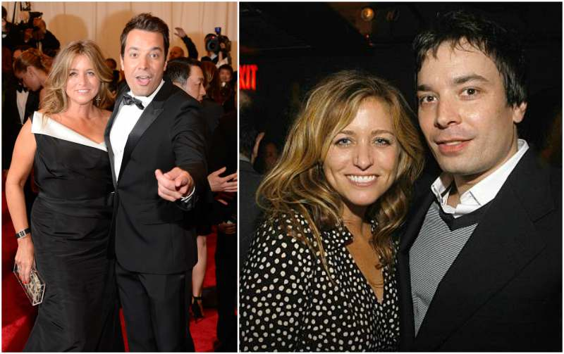 Jimmy Fallon's family - wife Nancy Juvonen