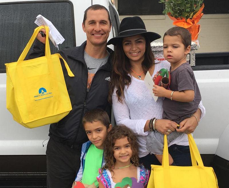 Matthew McConaughey's family