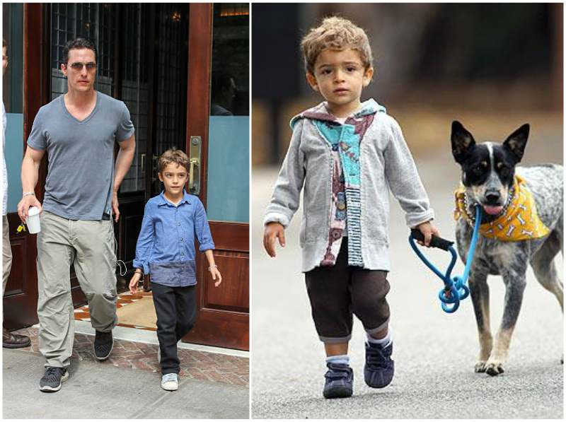 Matthew McConaughey's children - son Levi Alves McConaughey