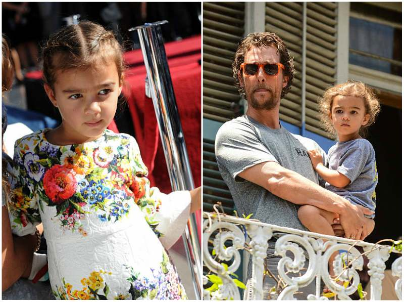Matthew McConaughey's children - daughter Vida Alves McConaughey