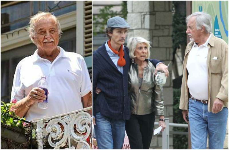 "Matthew McConaughey's family - father James ""Big Jim"" Donald McConaughey"