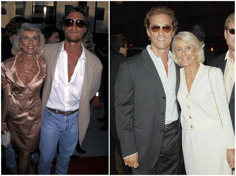 "Matthew McConaughey's family - mother Mary Kathlene ""Kay"" McConaughey"