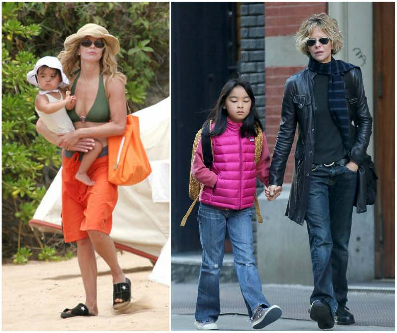 Meg Ryan's children - adopted daughter Daisy True Ryan