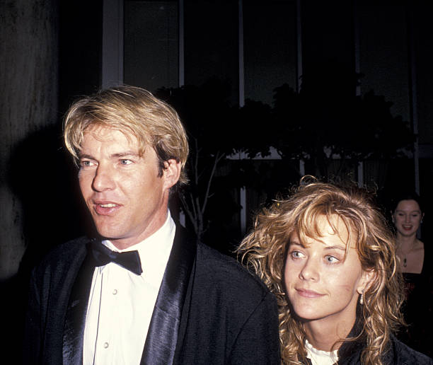 Meg Ryan's ex-spouse Dennis Quaid