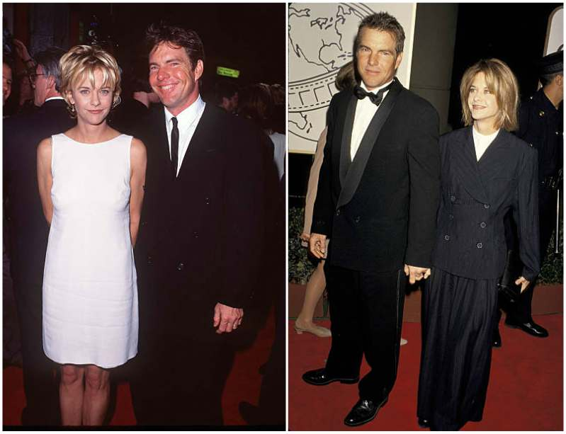 Meg Ryan's family - ex-husband Dennis Quaid