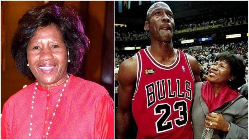 Michael Jordan's family - mother Deloris Peoples Jordan