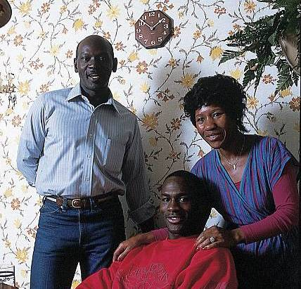 Michael Jordan's family - parents
