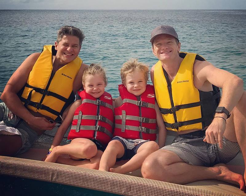 Neil Patrick Harris' family - spouse David Burtka