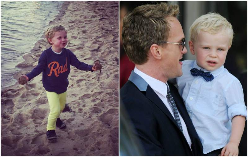 Neil Patrick Harris' children - son Gideon Scott Burtka Harris
