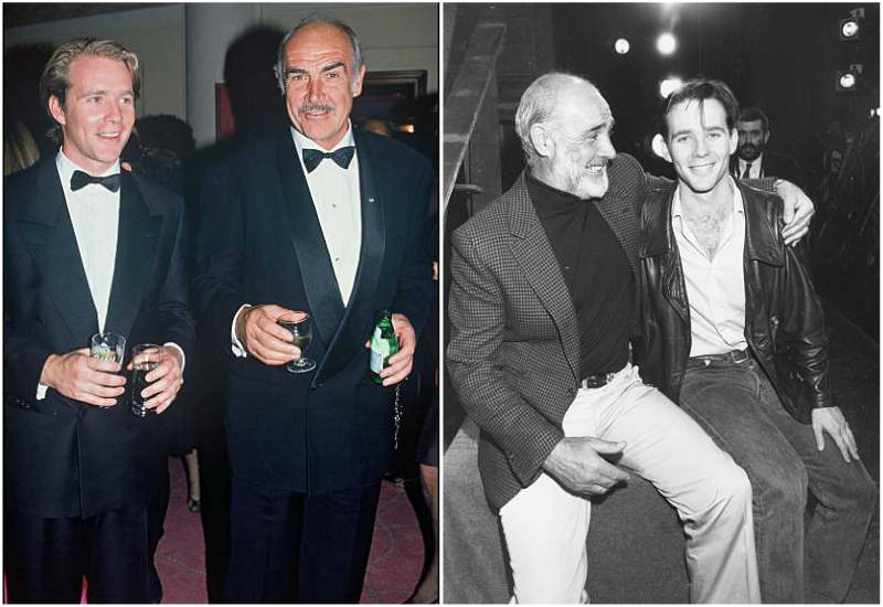 Sean Connery's children - son Jason Joseph Connery