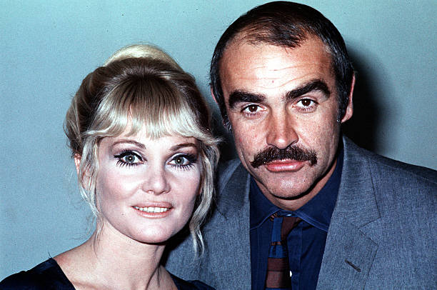 Sean Connery's family - ex-wife Diane Cilento