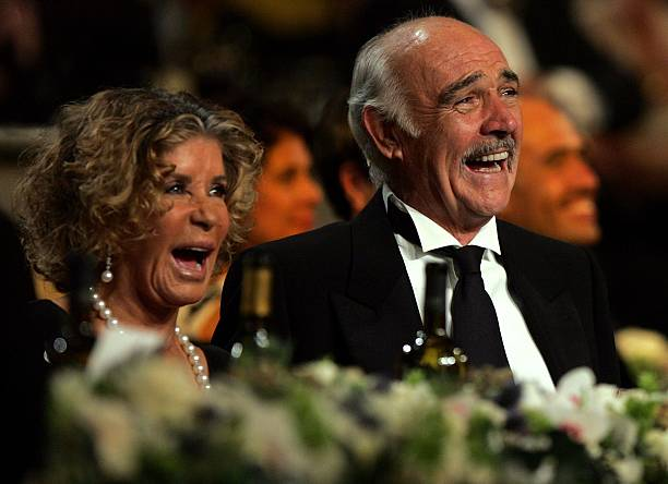 Sean Connery's family - wife Micheline Roquebrune