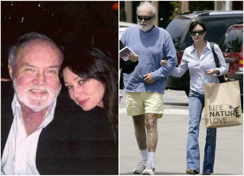 Shannen Doherty's family - father John Thomas Doherty Jr.