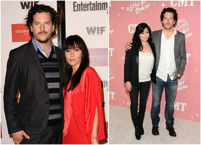 Shannen Doherty's family - husband Kurt Iswarienko