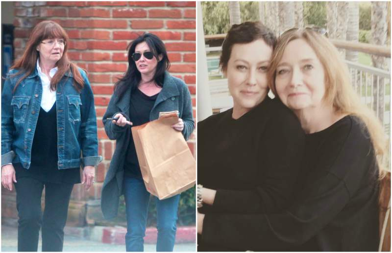 Shannen Doherty's family - mother Rosa Elizabeth Doherty