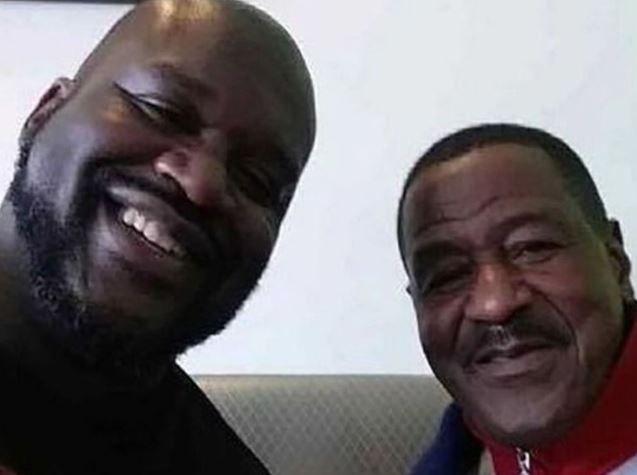 Shaquille O'Neal's family - father Joseph Toney