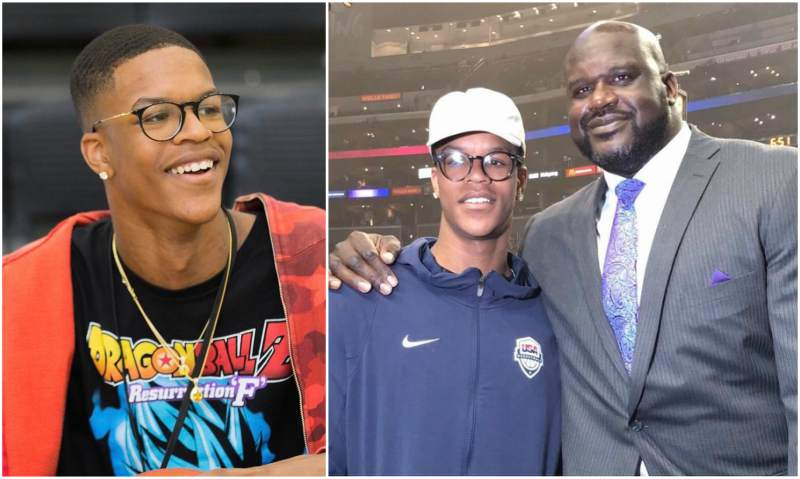 Shaquille O'Neal's children - son Shareef O'Neal