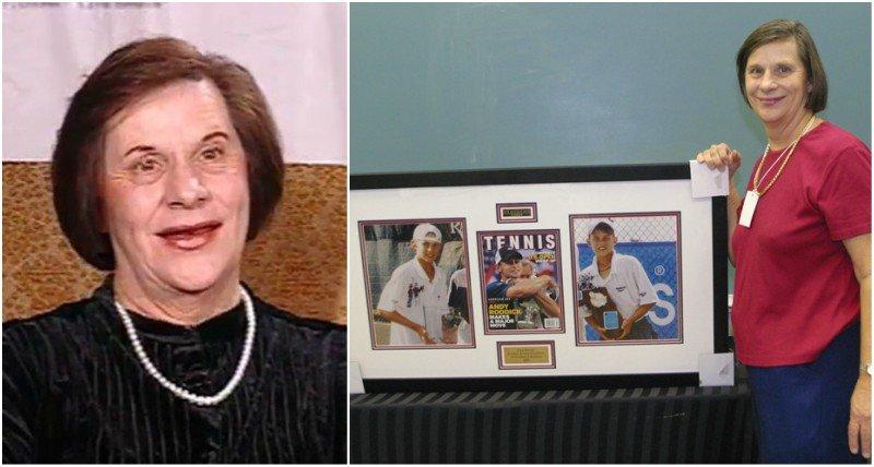 Andy Roddick's family - mother Blanche Roddick