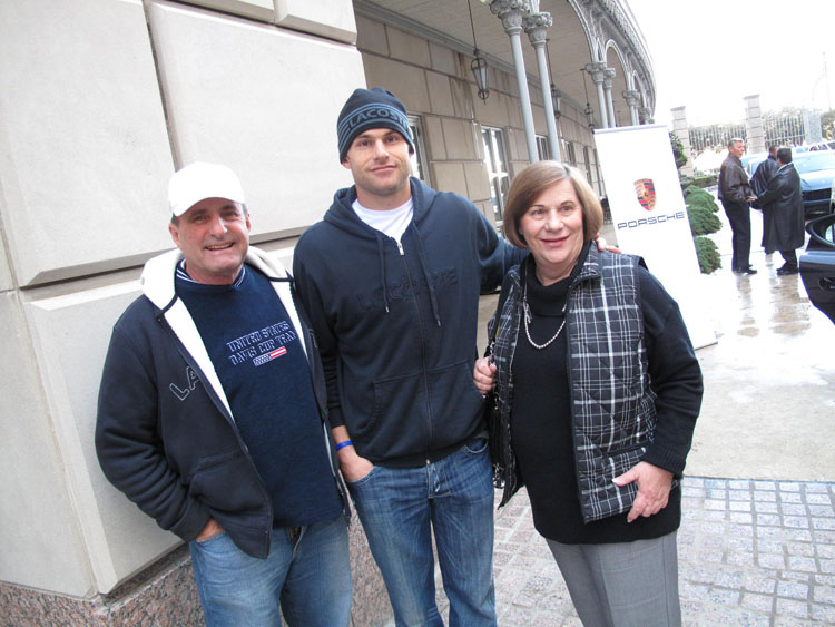 Andy Roddick's family - father and mother