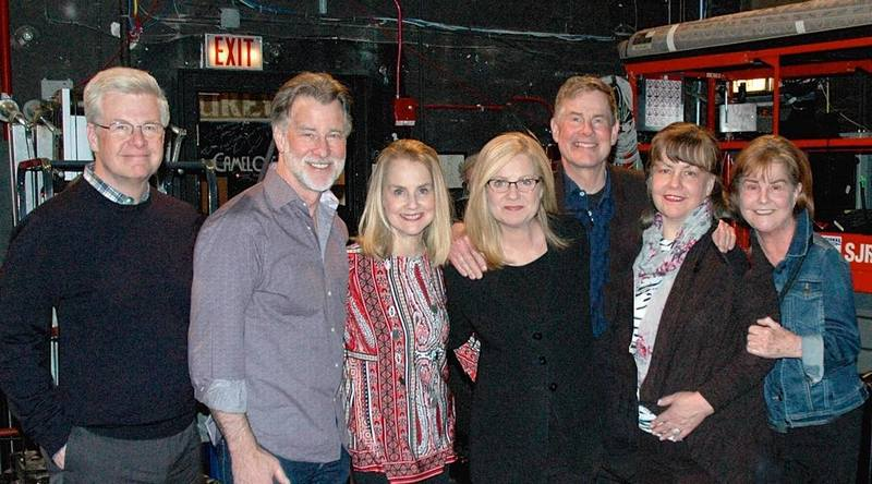 Bonnie Hunt's family - siblings