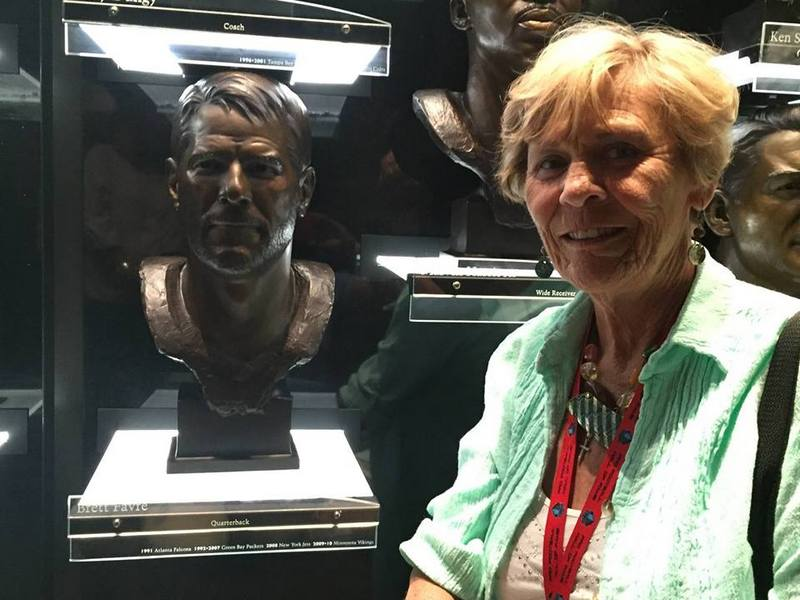 Brett Favre's family - mother Bonita Favre