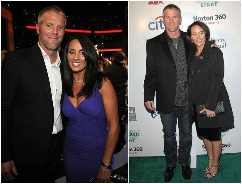 Brett Favre's family - wife Deanna Favre