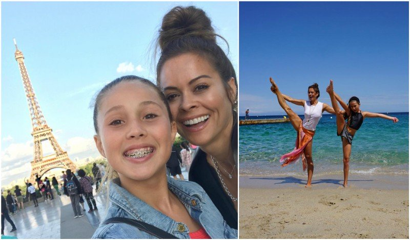 Brooke Burke's children - daughter Heaven Rain Charvet