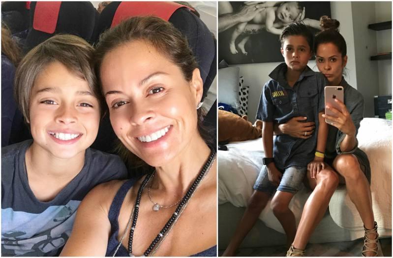 Brooke Burke's children - son Shaya Braven Charvet