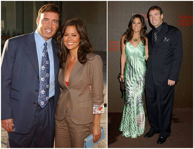 Brooke Burke's family - ex-husband Garth Fisher
