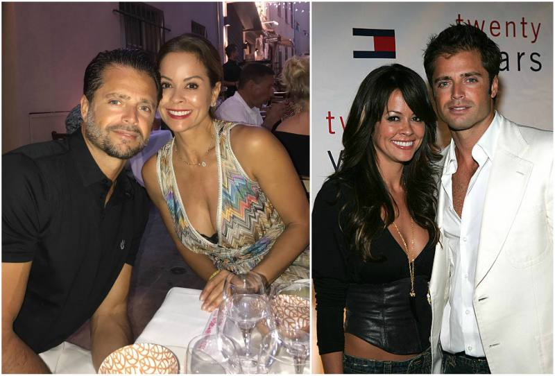 Brooke Burke's family - husband David Charvet