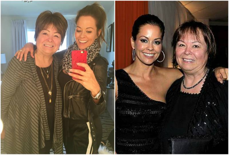 Brooke Burke's family - mother Donna Hatounian