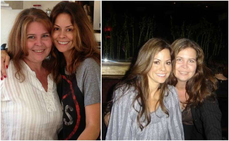 Brooke Burke's siblings - sister Kimberly Burke Flagg