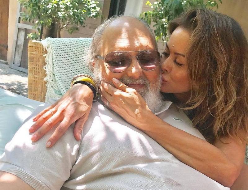 Brooke Burke's family - step-father Armen Michael Hatounian