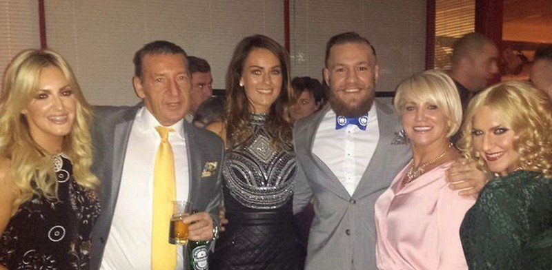 Conor McGregor's family: parents, siblings, wife and kids