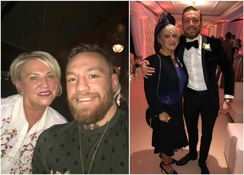 Conor McGregor's family - mother Margaret McGregor